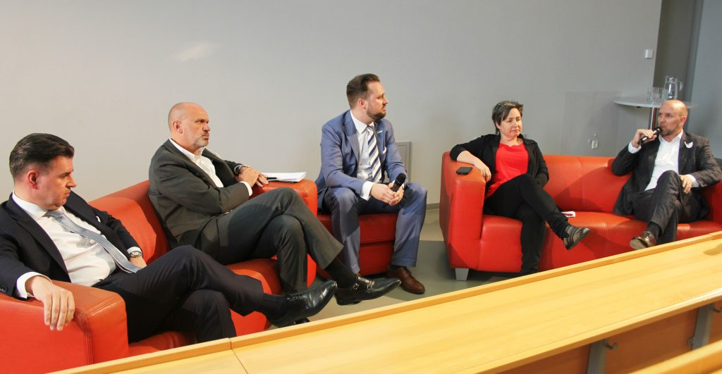 Panel Medienpolitik © FH Burgenland