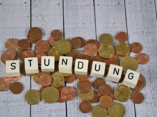 Stundung - the german word for extension for payment